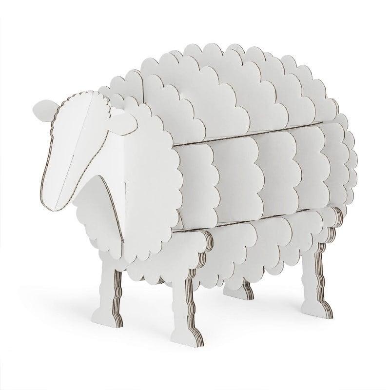 Commode Mouton en carton recyclé