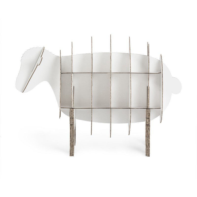 Commode Mouton en carton recyclé stange design
