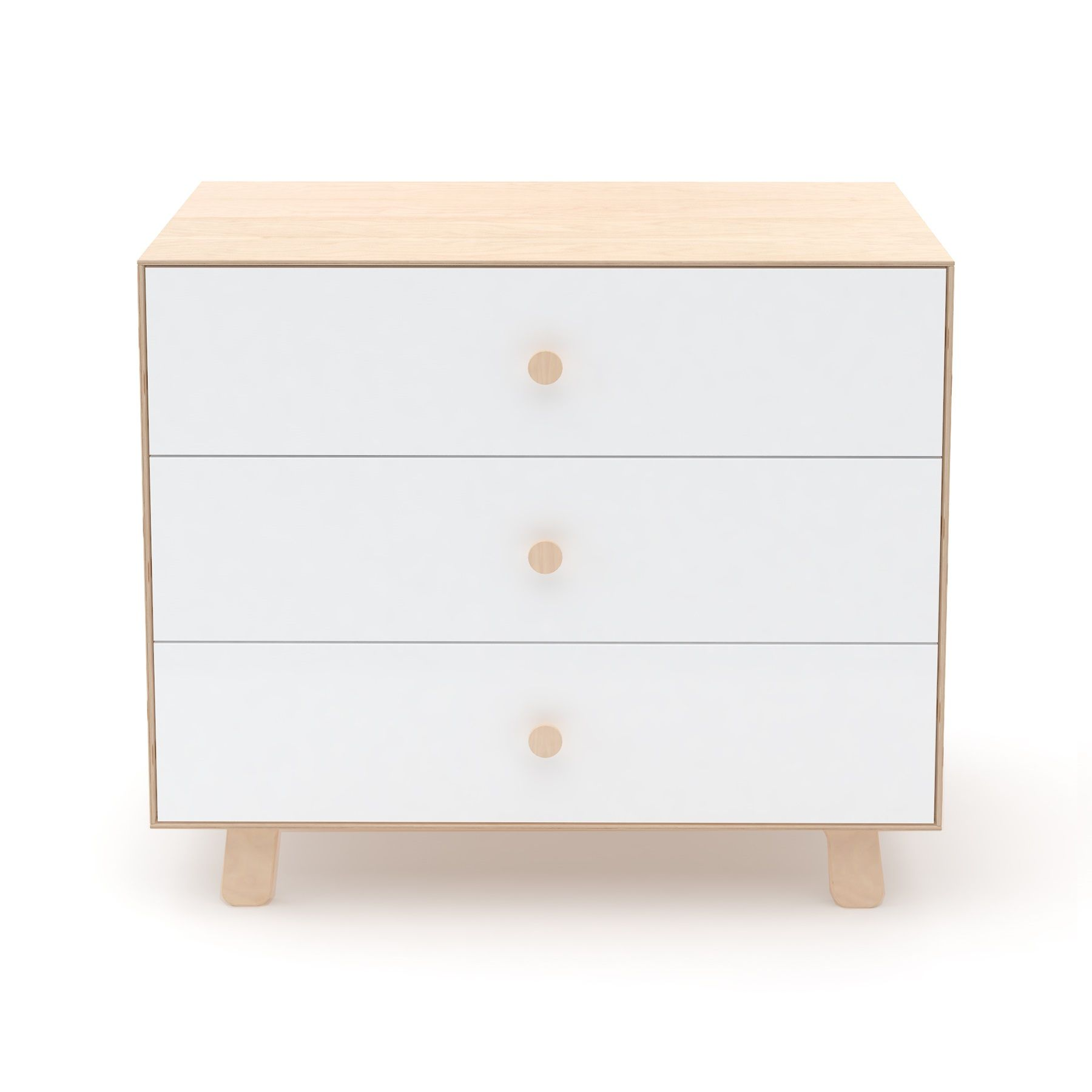 """Oeuf NYC - Commode Merlin 3 tiroirs """"Sparrow"""" - Bouleau"""