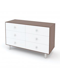"Oeuf NYC - Commode Merlin 6 tiroirs ""Classic"" - Noyer"