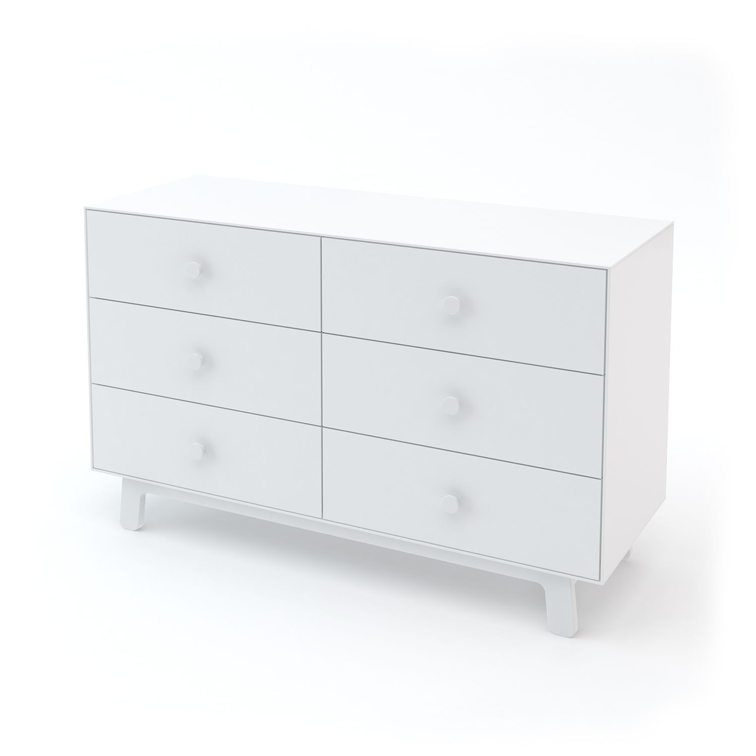 "Oeuf NYC - Commode Merlin 6 tiroirs ""Sparrow"" - Blanc"