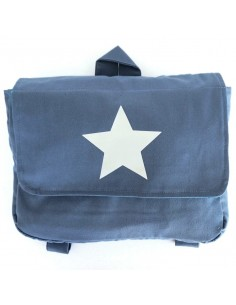 cartable maternelle etoile bleu made in france