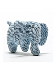 Mini Hochet elephant en crochet
