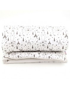 couverture bebe ultra douce oeko tex made in france