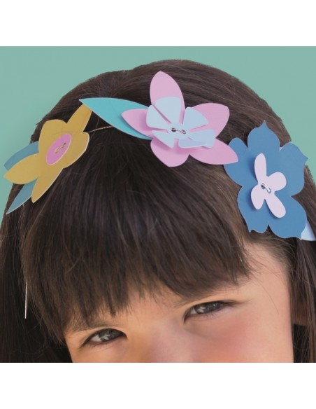 couronne de fleurs pour petite fille