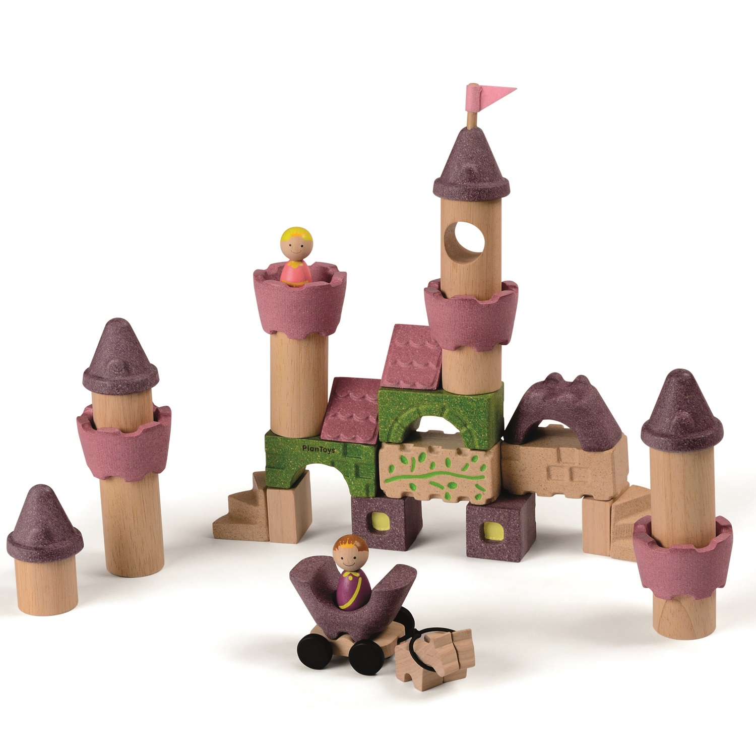 Plan Toys - Blocs de construction - Princesse