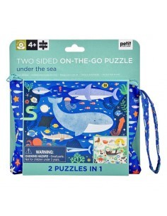 puzzle deux cotes petit collage 100 pieces