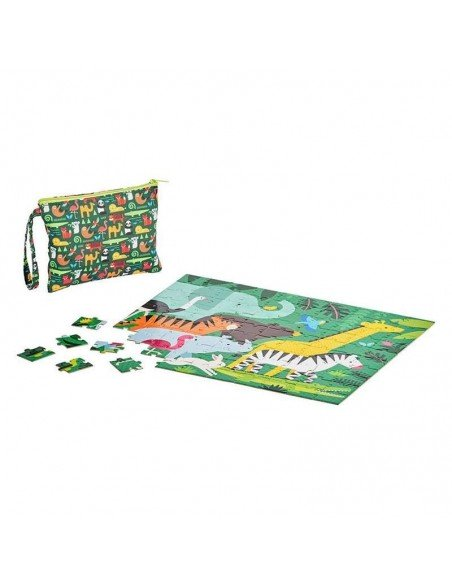 petit collage puzzle double face pochette