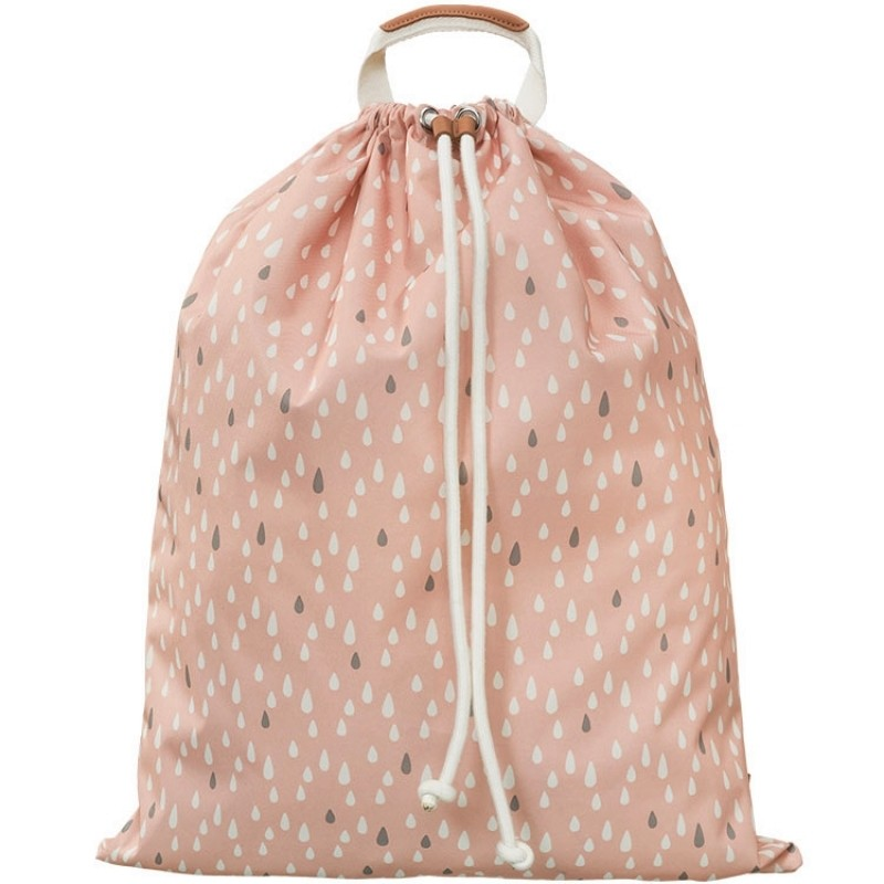 sac a jouets recycle rose fresk