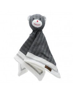 doudou bio carré ourson mixte