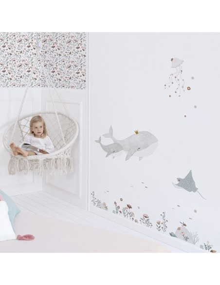 ambiance chambre fille ocean dream lilipinso