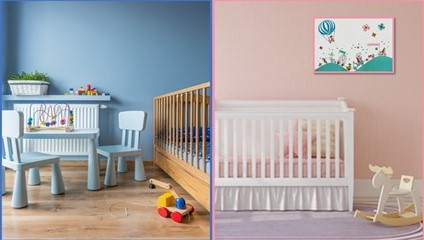 La d co de chambre b b mixte fille ou gar on le blog de prairymood - Chambre enfants mixte ...