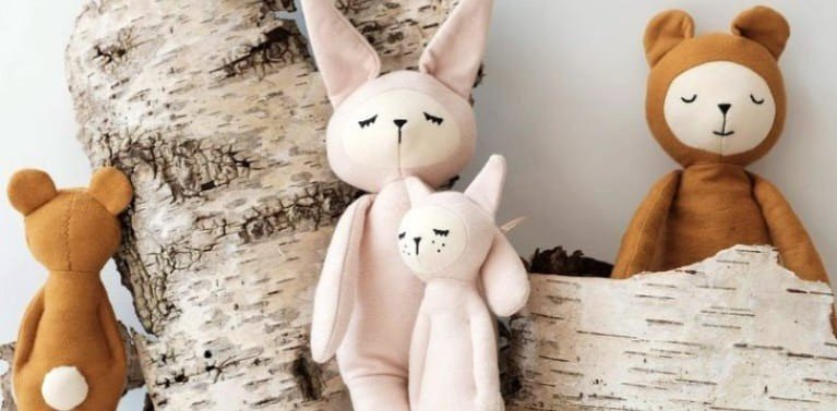 Doudou Bio ou Naturel - Doudou pour Bébé Made in France - Prairymood